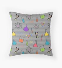 Science and Chemistry Throw Pillow
