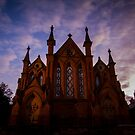 Church in Lyttleton Street, Castlemaine by Sherene Clow