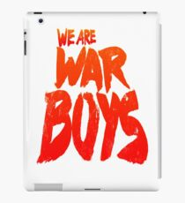 WAR BOYS iPad Case/Skin