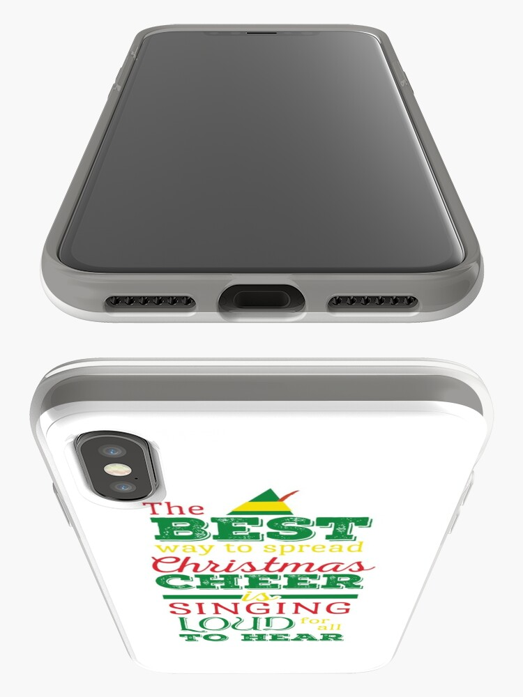 Alternate view of Christmas Cheer iPhone Case & Cover