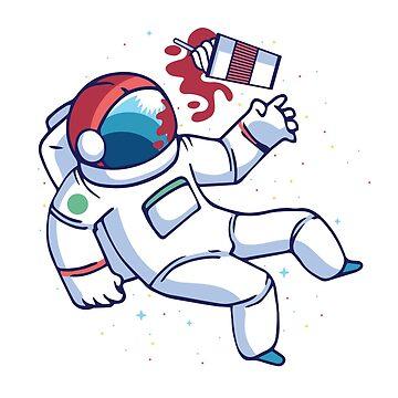 Astronaut Frappuccino by soondoock