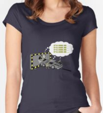 Affirmations from Dummies Women's Fitted Scoop T-Shirt