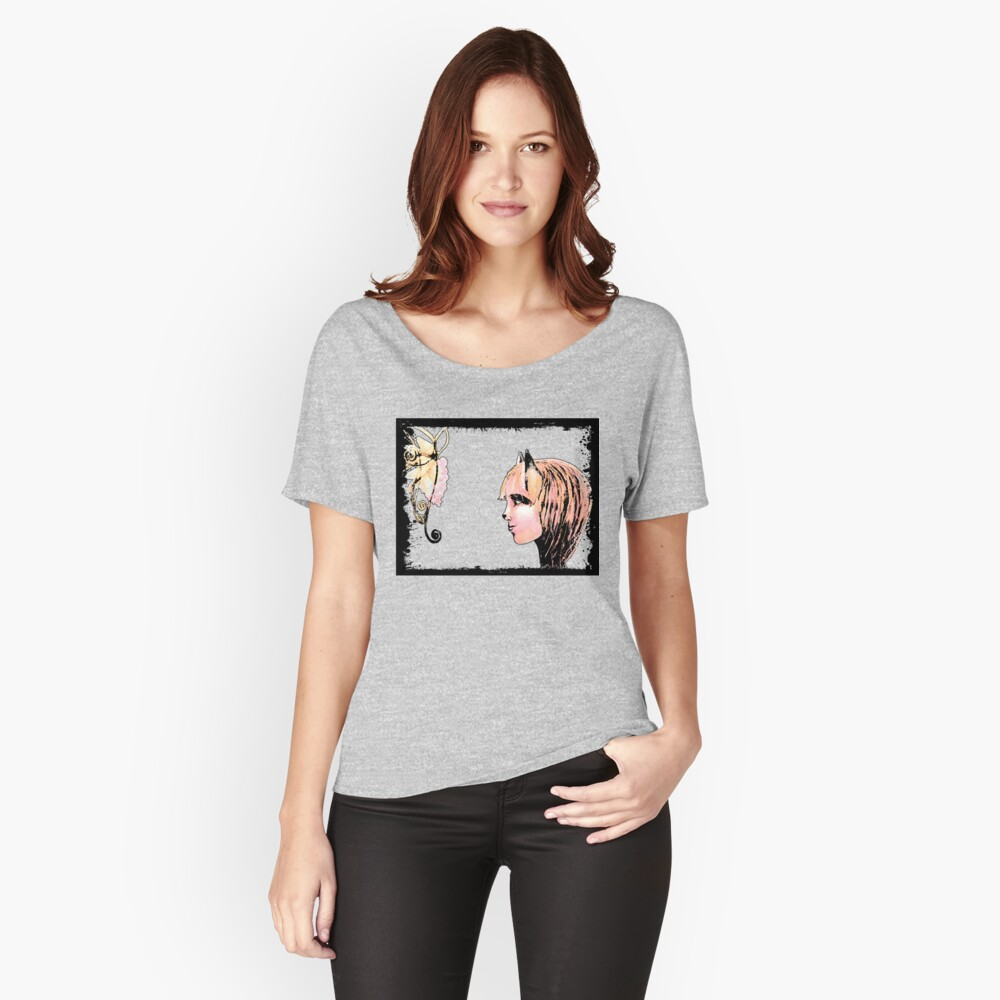 The Fox and The Grapes Women's Relaxed Fit T-Shirt Front