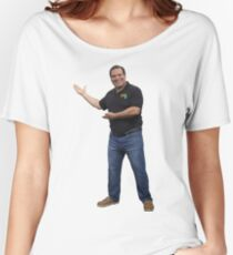 Phil Swift Flex Tape Presenting Women's Relaxed Fit T-Shirt