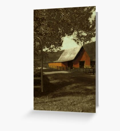 The Barn... Greeting Card