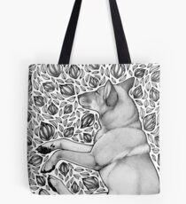 Dingo Dreaming Tote Bag
