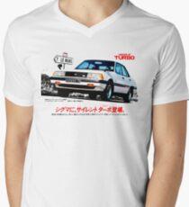 MITSUBISHI GALANT SIGMA TURBO Men's V-Neck T-Shirt
