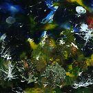 Birds, Tree and Chaos (my painting job) III by Antanas