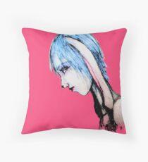 My Bunny Girl Throw Pillow