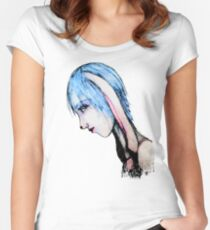 My Bunny Girl Women's Fitted Scoop T-Shirt