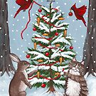 Decorating the Christmas Tree With Friends by Ryan Conners