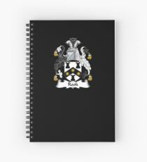 Rook Coat of Arms - Family Crest Shirt Spiral Notebook