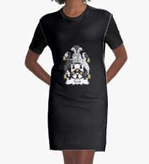 Rook Coat of Arms - Family Crest Shirt Graphic T-Shirt Dress