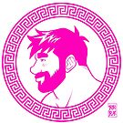 ADAM LIKES GREECE - PINK GLAM by bobobear