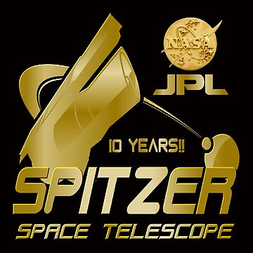 10th Anniversary of the Spitzer Space Telescope by Spacestuffplus