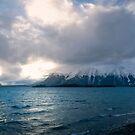 Atlin Lake in early Winter by Yukondick