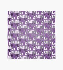 Faith Hope Love - Pancreatic Cancer Awareness Scarf