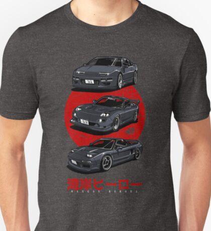 Wangan Heroes - Black T-Shirt
