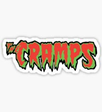 The Cramps Punk Rock Band Sticker