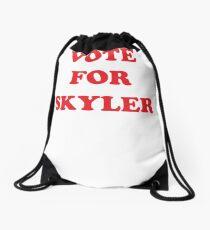 Vote For Skyler! - Campaign Tee Drawstring Bag