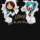 LOVE: How Do You Show It? Shirt by DarthSpanky