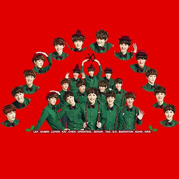 XMAS EXO by redkpopstore