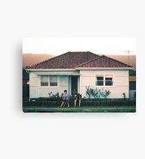 scenes from suburbia Canvas Print