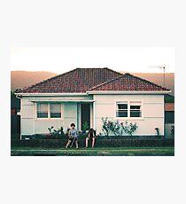 scenes from suburbia Photographic Print