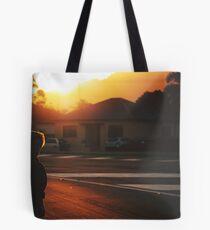 summer in suburbia Tote Bag