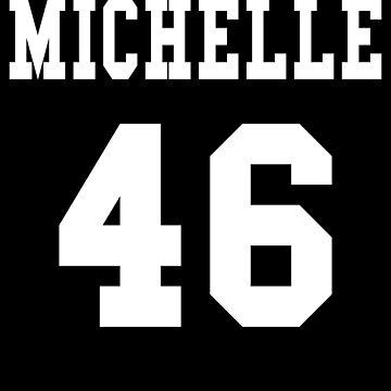 Michelle Obama Sweatshirt - michelle obama 2020 - Michelle 46 - Michelle obama President 2020 by chardo55