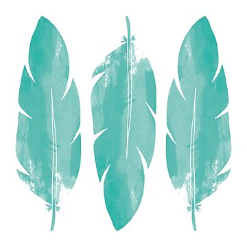 Boho Feathers by graphicloveshop
