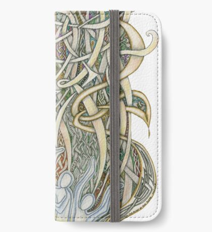 Let Our Voices Rise Like Incense iPhone Wallet