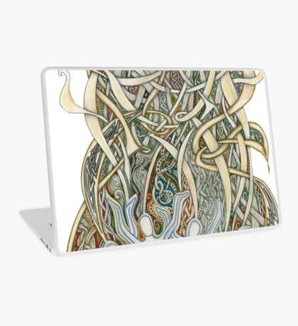 Let Our Voices Rise Like Incense Laptop Skin