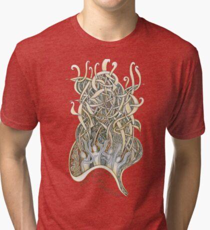 Let Our Voices Rise Like Incense Tri-blend T-Shirt