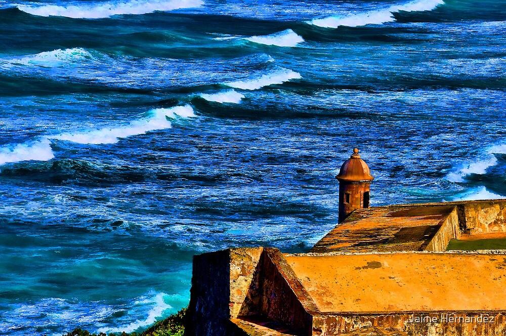 Old San Juan by Jaime Hernandez