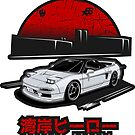 Wangan Heroes NA1 - White - Sticker by BBsOriginal
