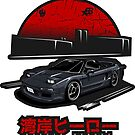 Wangan Heroes NA1 - Black - Sticker by BBsOriginal