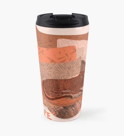 Nope - Lazy Red Cat Travel Mug