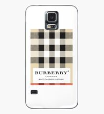 burberry classic Case/Skin for Samsung Galaxy