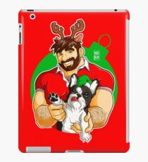 XMAS - ADAM LIKES FRENCHIES - FOR RED TEE iPad Case/Skin
