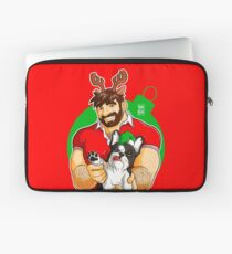 XMAS - ADAM LIKES FRENCHIES - FOR RED TEE Laptop Sleeve