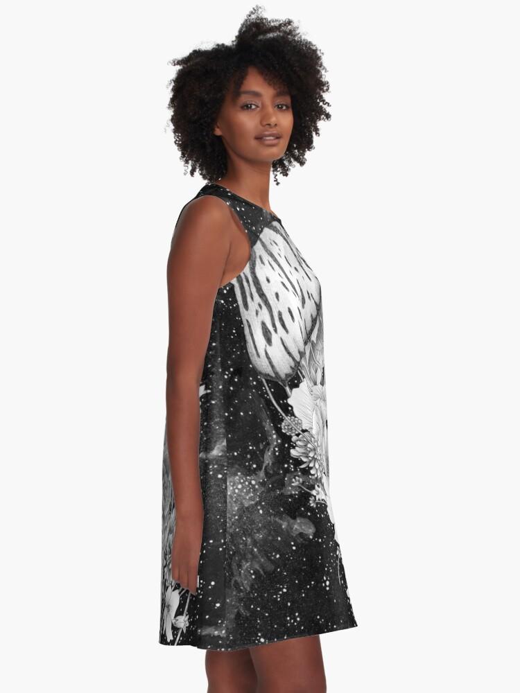 Alternate view of Magic Ocean: The Jellyfish A-Line Dress