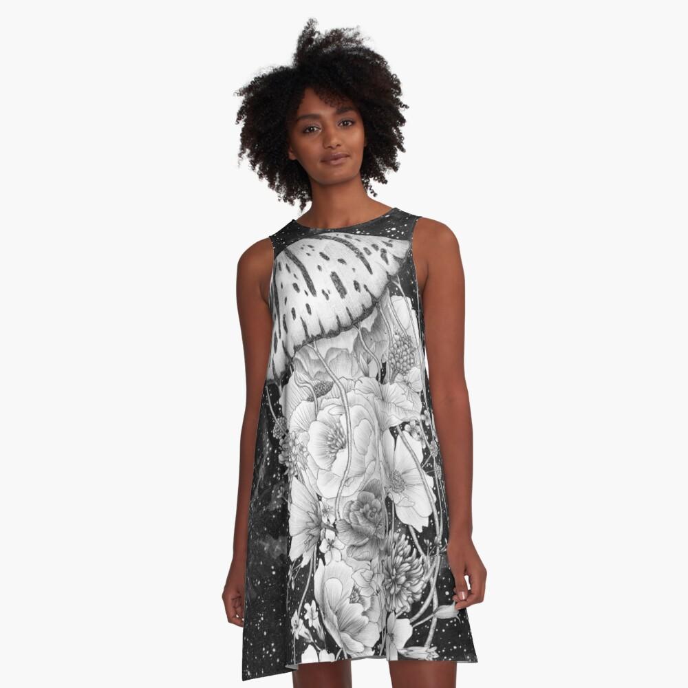 Magic Ocean: The Jellyfish A-Line Dress