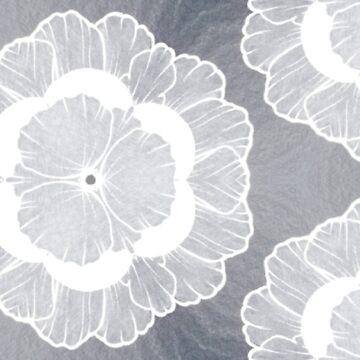 Winter-Blumenmuster von skinnyginny