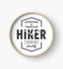 Hiker Clock