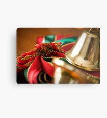 Christmas Ribbon Metal Print