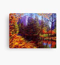 Yosemite River Canvas Print