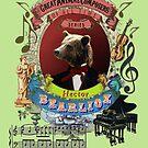 Hector Bearlioz Berlioz Musician Bear by AnimalComposers