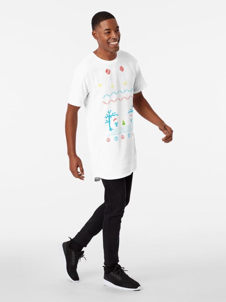 Alternative Ansicht von Top hässlicher Pullover Longshirt