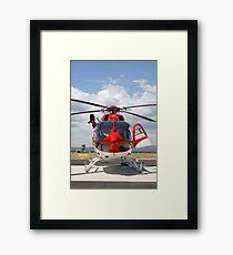 Helicopter Eurocopter EC145 #4 Framed Print